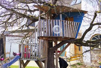 Baumhaus von Holzinger Gartengestaltung